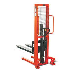 STIER Hydraulik Stapler | Tragkraft 1000kg | Hubhöhe 3000mm |
