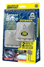 Sensor Brite Outdoor - Motion Sensor LED Flood Light, 2 Pack, As Seen On TV, NEW