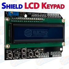 Shield LCD Keypad Pantalla LCD1602 Arduino Azul botones Modulo 1602 teclado 16x2