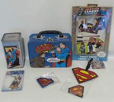 DC COMICS : SUPERMAN : KEY RING, MAGNETS, PATCH, LUNCH BOX, MONEY BOX (TK)