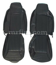 Fiat 850 Spider USA Black Seat Covers New