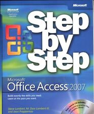 Microsoft Office Access 2007 Step by Step Book/CD Package By Joan Lambert