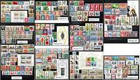 Briefmarken Berlin komplette Jahrgänge von 1969 - 1979 zur Auswahl postfrisch **