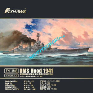 Flyhawk FH1160S 1/700 HMS HOOD 1941 Deluxe Edition