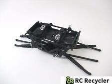 Losi Night Crawler Aluminum Chassis Blk Comp Rock Frame Links 1/10 LNC LCC