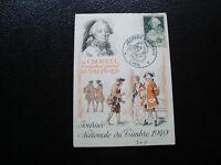 FRANCE - carte 1er jour 26/3/1949 (journee du timbre lyon) (cy57) french