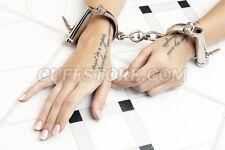 "Darby Handcuffs 5-Position Size Adjusting Wrist Restraint Cuffs 6"" to 7.25"""