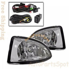 For 04 05 Honda Civic Fog Lights Bumper Lamps Kit W/ Switch Wiring Bulbs FL7041