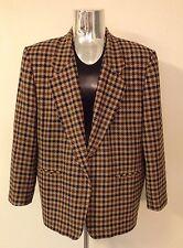 Vintage Pendelton One Button Blazer - 100% Wool - Women's Size 24W