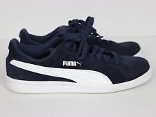 New listing Men's Shoes - PUMA  Athletic Tennis Sneakers Blue Smash Suede Lace Up  Size 8