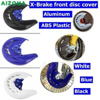 Front Brake Disc Rotor Guard Cover For Yamaha YZ250F YZ450F 07-13 WR250F WR450F