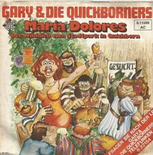 Gary & Die Quickborners - Maria Dolores / Der Wilddieb... (Vinyl-Single 1972) !!