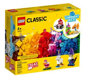 Lego Classic 10692 Creative Transparent Bricks age 4 Yrs+ ~NEW~