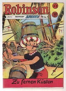 Robinson Nr. 42 (1/1-) Comic Heft Original Serie ab 1953 Titanus / Gerstmayer