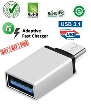 USB 3.1 USB Type C Male to USB A 3.0 Female OTG Converter Adapter for Mac FAST