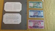 SOLOMON ISLANDS ND COMPLETE 3 SPECIMEN SET 1979 005554 CS1 P5 - 7 GEM UNC
