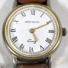 MONTRE BRACELET Marque «  Enzo VARINI » Diamètre environ 2.4 cm