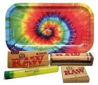 Bundle - 5 Items - RAW King Size Supreme, RPD Rolling Tray(Tie Dye) and more