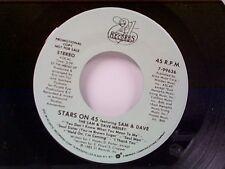 "STARS ON 45 ""SAM & DAVE MEDLEY""  #99636  MINT PROMO"