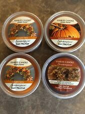 4 Yankee Candle Easy Meltcup Scenterpiece Refills - Holiday Fall Halloween