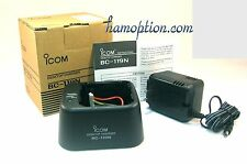 NEW ICOM BC-119N 100-240V Charger for IC-T7H IC-V82 IC-U82 IC-V8 IC-T3H IC-M31