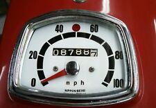Honda Dream 305 CA77 CA72 Speedo Dial Clock Gauge Overlay Decal Nippon Seiki