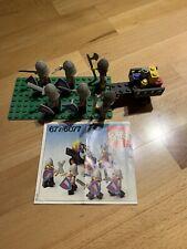 LEGO personnage accessoires haut bleu foncé avec décor 677 #