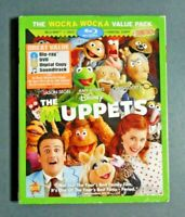 The Muppets Wocka Wocka value pk Brand New Sealed BluRay DVD Slipcase No Digital