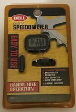 Bell Digital Speedometer Vintage 1998 Hands Free Bicycle Data System Sealed