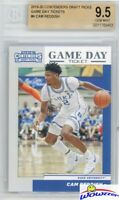 Cam Reddish 2019/20 Panini Contenders Draft Pick School Colors BGS 9.5 GEM