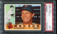 1960 Topps Baseball #71 MARTY KEOUGH Boston Red Sox PSA 7 NM
