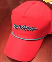 Baywatch Hat Red New Classic Snapback Blue Rope Beach Swim SpringBreak Party NEW
