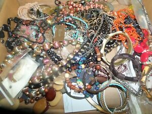 15 Pound 4 Ounce Box Assorted Jewelry