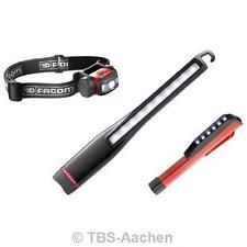 Facom 779.15IM LED-Lampen-Set 3-teilig - Inspektionslampe Stirnlampe Pen-Lampe