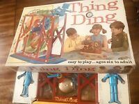 Vintage Game Thing Ding Machine New Schaper Rare Building Board Game Orig Box