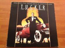 TUCKER The man and his Dream - 1988 Vinyl 33rpm LP - Film Soundtrack