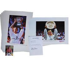 Ivan Lendl and Martina Navratilova - 10 signed prints: Wholesale offer