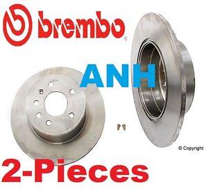 2-Pieces Brembo 25531 Rear Disc Brake Rotors