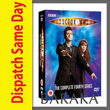 DOCTOR Dr WHO Complete Fourth Series Season 4 R4 DVD Box Set 6 discs BBC
