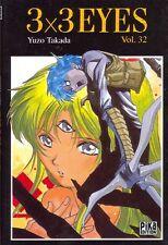 3x3 EYES Tome 32 Takada PIKA manga seinen
