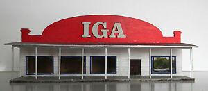 HO scale IGA store (KIT)
