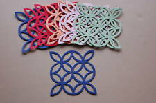 Sizzix Stampin Up Cardstock Lattice Die Cuts *New '10 In Colors