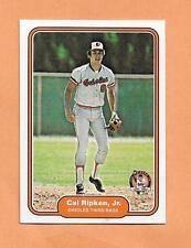 CAL RIPKEN JR 1982 FLEER ROOKIE RP CARD # 176  2001 CAREER HIGLIGHTS LMT/ 50,000