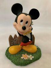 "Disney Danbury Mint 3.5"" Mickey Mouse Feb. Figurine Perpetual Calendar Figurine"