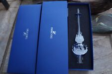 Swarovski CHRISTMAS 5301303 TREE TOPPER NIB AUTHENTIC