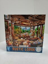 New 1000 Piece Rustic Lodge Fishing Jigsaw Puzzle Ceaco Puzzles