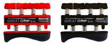 The GREAT GRIP™ TWO PACK Med & Hvy (7 lb & 9 lb finger) LIFETIME WARRANTY