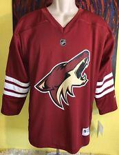 213b0d9a7 Reebok 58hwb XX NHL Phoenix Coyotes Replica Youth Jersey- Choose Sz color.