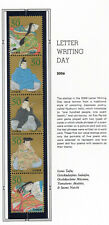 Japan 2006 Letter Writing Day NH Scott 2962 Strip of 5 Stamps