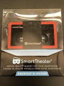NIB Smart Theater VR virtual Reality Headset for Android and iPhone